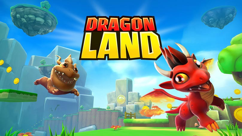 Dragon Land Splashpage